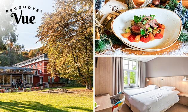Hotelovernachting(en) voor 2 + drankje bij Berghotel Vue