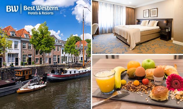 Overnachting voor 2 + ontbijt + stadswandeling in Den Bosch