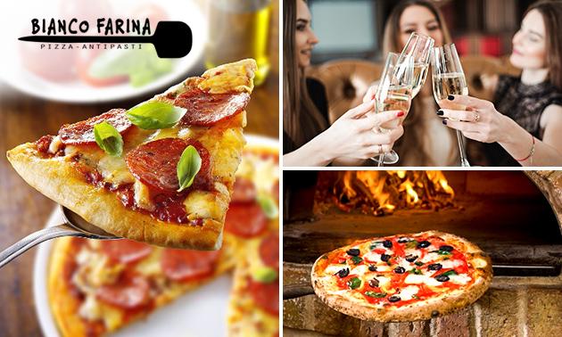 Afhalen: 3-gangendiner + drankje bij Bianco Farina