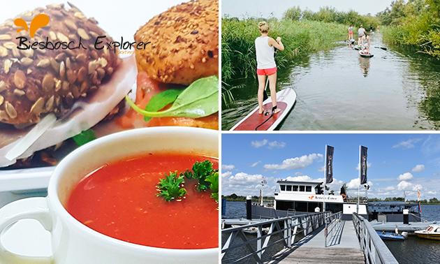 Biesbosch Explorer Arrangement + 2-gangenlunch (3 uur)