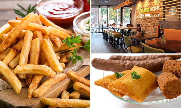 Afhalen: friet + saus + snack + frisdrank bij Big Bread Kitchen