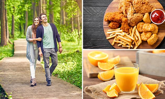 Wandelarrangement + lunch + friet bij Bijna Thuis