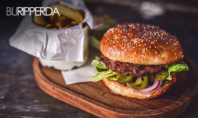 Thuisbezorgd of afhalen: compleet burgermenu