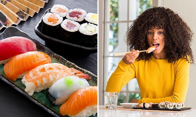 Take-away sushibox (20 stuks) bij Bistro Asian Fusion