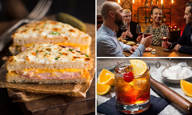 Cocktails + tapas voor 2 bij Bistrot Oostende