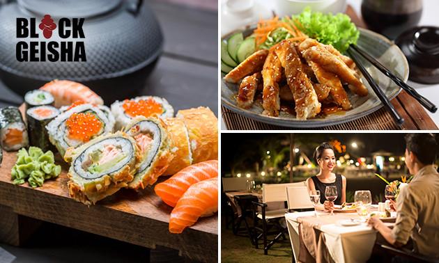 Black Geisha, All-You-Can-Eat sushi (2,5 uur) bij Black ...