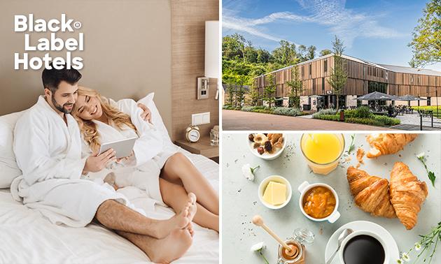 Overnachting voor 2 + ontbijt + drankje in Valkenburg