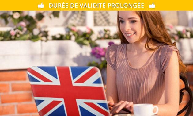 Formation d'anglais en ligne
