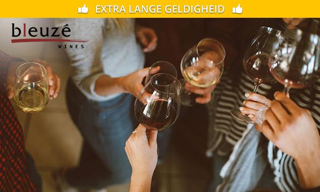 Wijnproeverij bij jou thuis