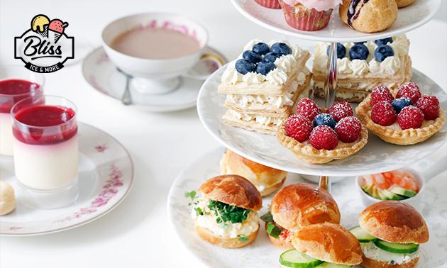High tea of high lunch bij Bliss in hartje Valkenburg