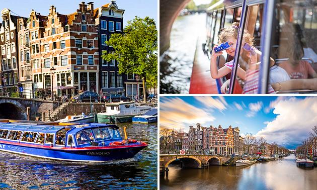 Rondvaart (75 of 90 min) door Amsterdam