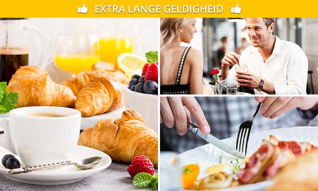 Luxe ontbijt + bubbels bij Boardhouse