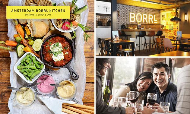 3-gangen keuzediner bij Borrl Kitchen