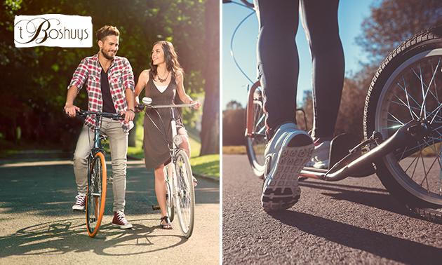 Huur fiets of kickbike + evt. route + lunchpakket