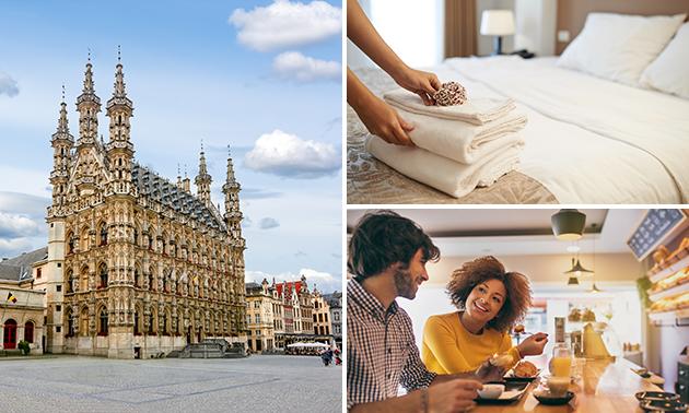 Voor 2 personen: overnachting + ontbijt in hartje Leuven