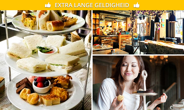 High tea bij Brasserie Bloem