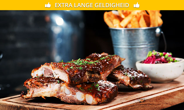 All-You-Can-Eat spareribs bij de Lantaarns
