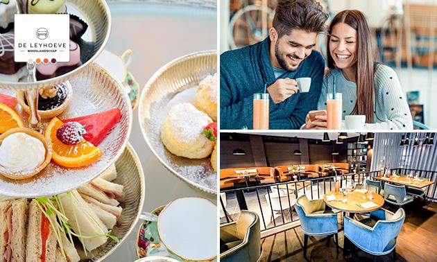 High tea + bubbels bij Brasserie De Leyhoeve