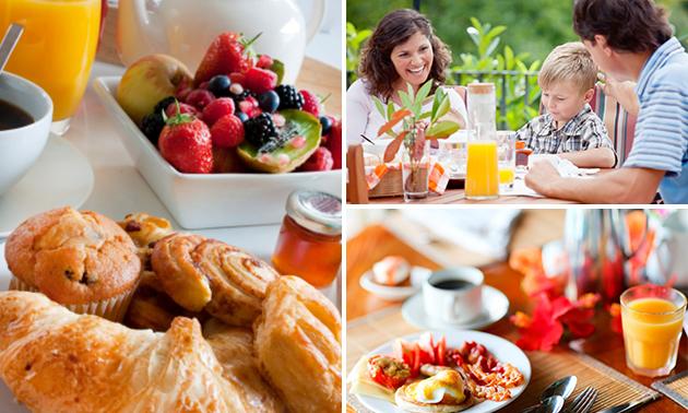 Ontbijt naar keuze + koffie/thee bij De Waterkant