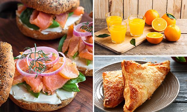 Afhalen: lunchbox + jus d'orange van Het Keelven