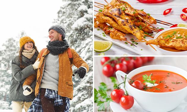 Forfait randonnée + menu en 2 services à la Brasserie Lanaye