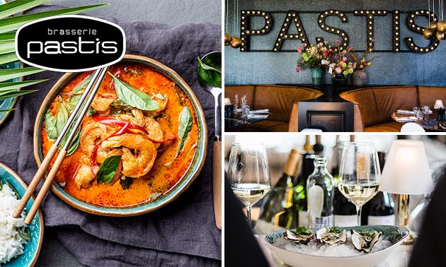 Afhalen: shared dining-diner (10 gerechten!) van Brasserie Pastis
