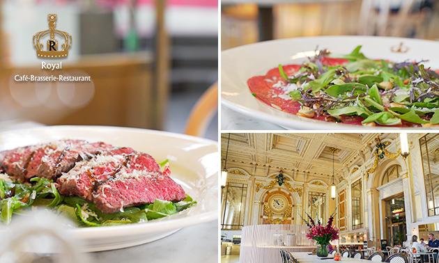 3-gangen keuzediner bij Brasserie Royal