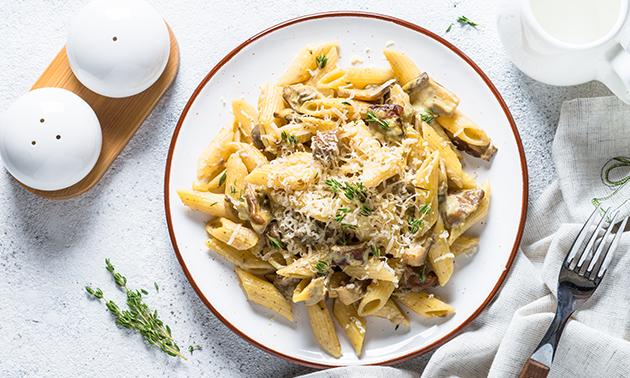 Afhalen: pasta of salade naar keuze in hartje Brussel