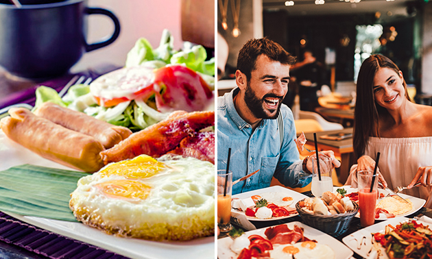 Smoothie/milk-shake ou petit-déjeuner au coeur de Bruxelles