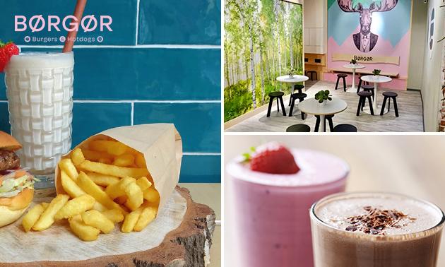 Afhalen: friet + milkshake in hartje Groningen