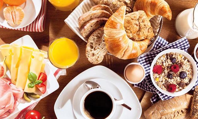 Ontbijt in hartje Rotterdam