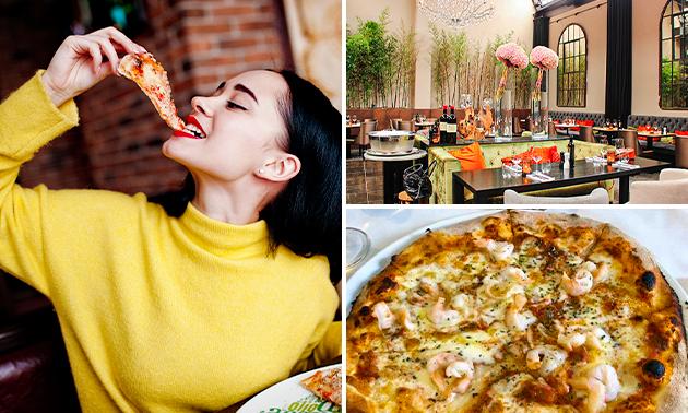 Afhalen: pizza naar keuze bij Buon'Eatalia