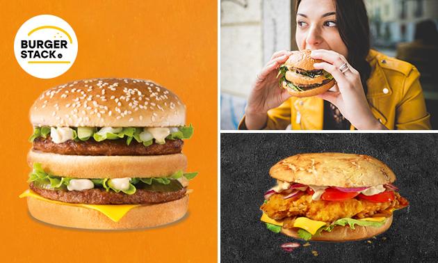 Afhalen: burgermenu + frisdrank