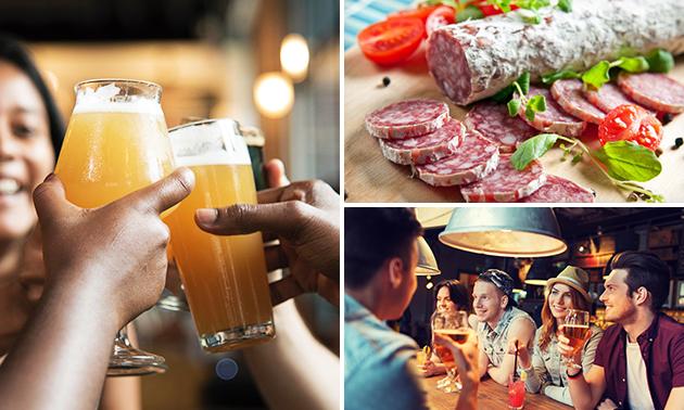 Bierproeverij + borrelhap bij 't Boerenverdriet