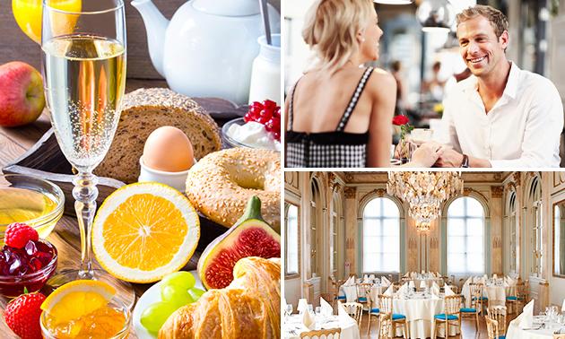 Luxe ontbijt + koffie/thee + glaasje cava bij Café Impérial