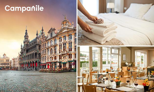 Overnachting voor 2 nabij Brussel + ontbijt