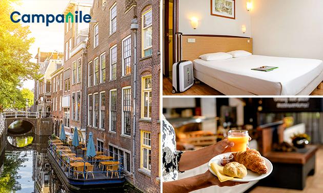 Overnachting voor 2 + ontbijt in Delft