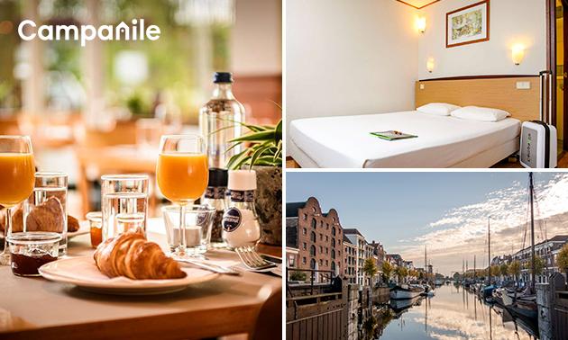 Overnachting + ontbijt voor 2 in Rotterdam-Oost