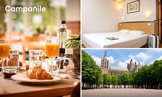 Overnachting voor 2 + ontbijt in 's-Hertogenbosch