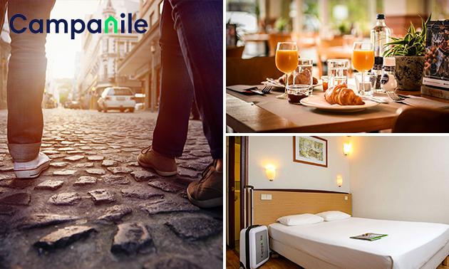 Overnachting voor 2 + ontbijt in Venlo