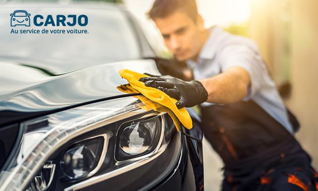 Handmatige autowasbeurt bij jou thuis