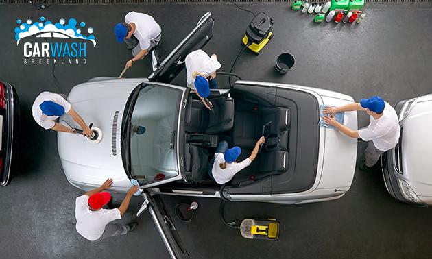 Autowasbeurt naar keuze bij Carwash Breekland