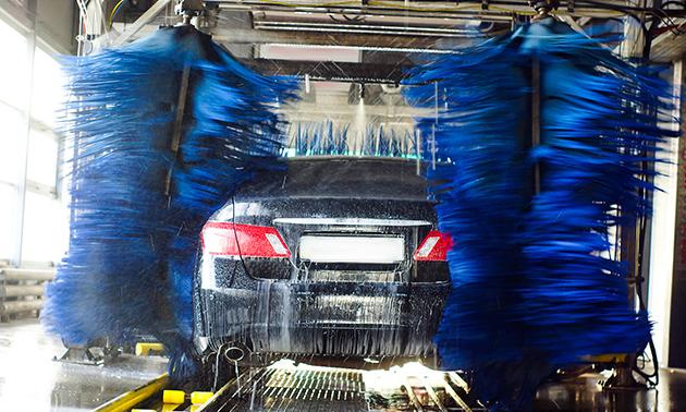 Intensief carwashprogramma + luchtverfrisser