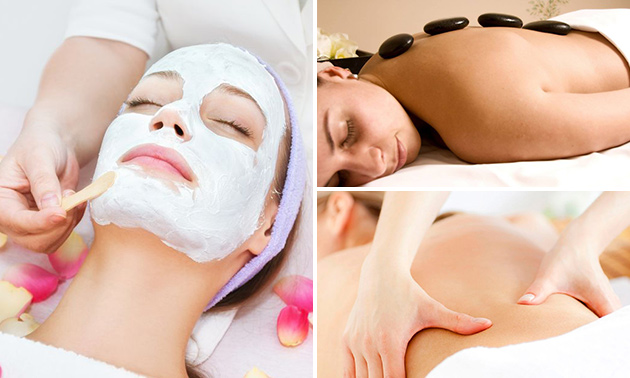Gezichtsbehandeling + massage (90 min)