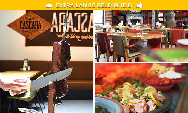 All-You-Can-Eat Braziliaans diner bij Rodizio
