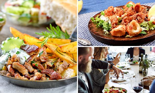 Thuisbezorgd of afhalen: Grieks shared dining-diner