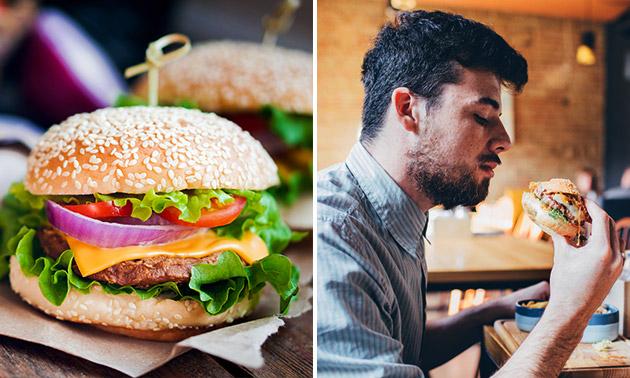 Luxe burger à la carte + verse frietjes