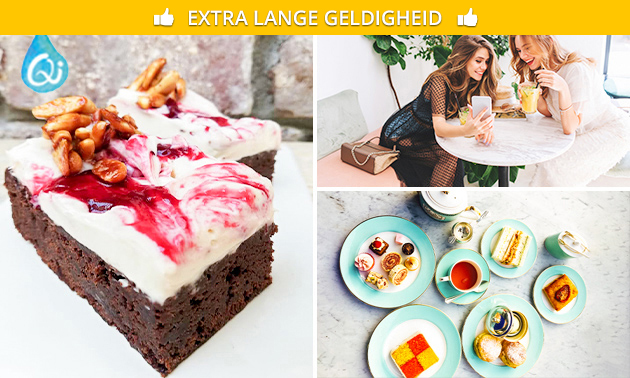 Vegan high tea (2,5 uur)