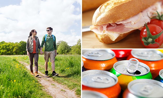 Afhalen: lunch + wandelroute bij C'est la Vie