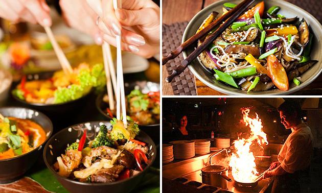 All-You-Can-Eat & Drink (2,5 uur) bij Chang Jiang Wok